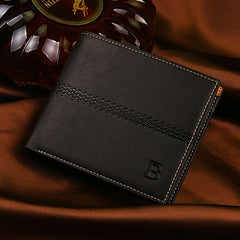 PU Leather Short Style Men Wallets - BoardwalkBuy - 6