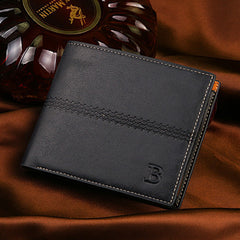PU Leather Short Style Men Wallets - BoardwalkBuy - 8