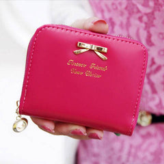 PU Leather Zip Around Women Wallet - BoardwalkBuy - 7