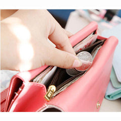 PU Solid Color Lovely Women Money Clips - BoardwalkBuy - 3