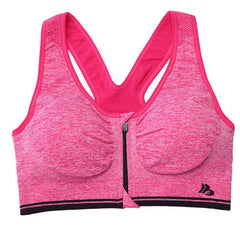 Zip-Up Sports Bra - BoardwalkBuy - 5