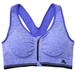 Zip-Up Sports Bra - BoardwalkBuy - 7