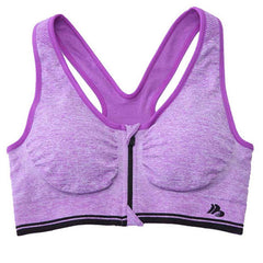 Zip-Up Sports Bra - BoardwalkBuy - 8