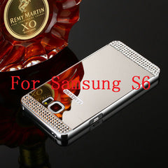 Bling Mirror Case For Samsung Galaxy S6 /S6 Edge /S7 /S7 Edge - BoardwalkBuy - 2