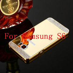 Bling Mirror Case For Samsung Galaxy S6 /S6 Edge /S7 /S7 Edge - BoardwalkBuy - 4
