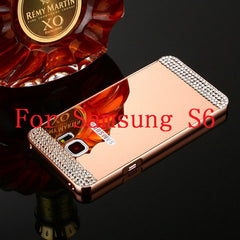 Bling Mirror Case For Samsung Galaxy S6 /S6 Edge /S7 /S7 Edge - BoardwalkBuy - 3