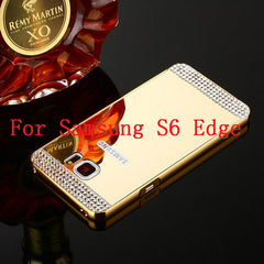 Bling Mirror Case For Samsung Galaxy S6 /S6 Edge /S7 /S7 Edge - BoardwalkBuy - 7
