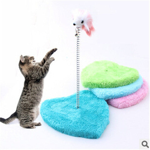 Pet Products Heart-Shaped Cat Climbing Frame Color Random