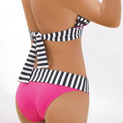 Polka Dot Sexy Women Swimwear Bikini Set - BoardwalkBuy - 3