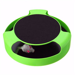 Pet Cat Catch The Mouse Interactive Toy