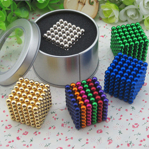 5 mm Puzzles Wooden Toys Sphere Magnetic Buckyballs - BoardwalkBuy - 1