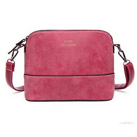 Woman Retro matte Pibei shell handbag
