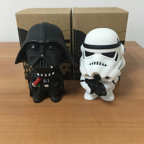 Q Style Star War Darth Vader & Storm Trooper Action Figure Model