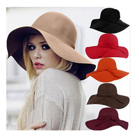 Retro Imitation Wool Casual Hat - BoardwalkBuy - 1