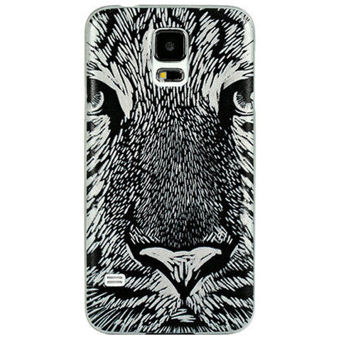 Embossed Hard Case for Samsung S5