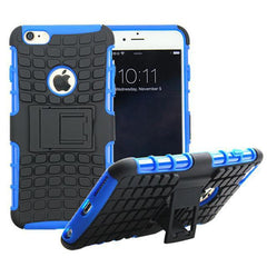 Anti-Shock Armor Hybrid Stand Case for iPhone 6 - BoardwalkBuy - 3