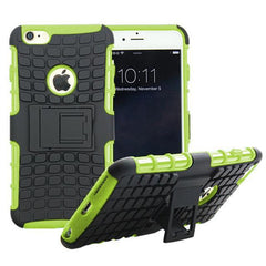 Anti-Shock Armor Hybrid Stand Case for iPhone 6 - BoardwalkBuy - 5