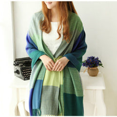 Scarf Plaid Thick Brand Shawls And Scarves For Women - BoardwalkBuy - 2