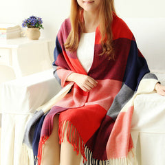 Scarf Plaid Thick Brand Shawls And Scarves For Women - BoardwalkBuy - 3