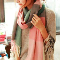 Scarf Plaid Thick Brand Shawls And Scarves For Women - BoardwalkBuy - 5