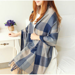 Scarf Plaid Thick Brand Shawls And Scarves For Women - BoardwalkBuy - 6