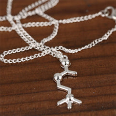 Serotonin Dopamine Acetylcholine Biochemistry Necklace - BoardwalkBuy - 5