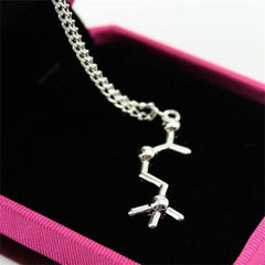 Serotonin Dopamine Acetylcholine Biochemistry Necklace - BoardwalkBuy - 3