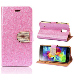 Bling Leather Stand Case for Samsung S5 - BoardwalkBuy - 8