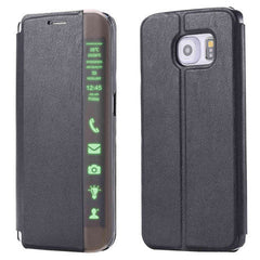 Smart LED Flip Leather Case For Samusung Galaxy S6/S6 Edge/S6 Edge Plus - BoardwalkBuy - 2