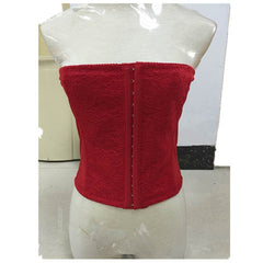 Solid Color Buttons Waist Trainer - BoardwalkBuy - 1