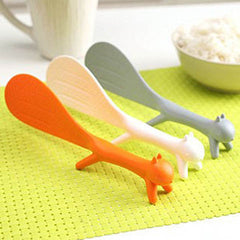 Squirrel Shaped Non Stick Rice Paddle - BoardwalkBuy - 3