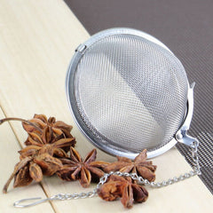Stainless Steel Metal Tea Ball Infuser - BoardwalkBuy - 3