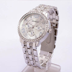 Stainless Steel Quartz Watch - 3 Colors - BoardwalkBuy - 3