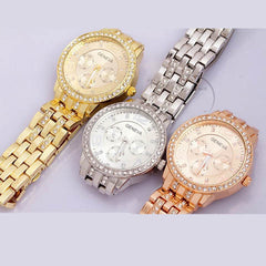 Stainless Steel Quartz Watch - 3 Colors - BoardwalkBuy - 5