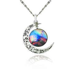 Star Sky and Moon Statement Necklace - BoardwalkBuy - 4