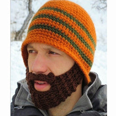 Striped Knit Ski Face Mask Hats for Man - BoardwalkBuy - 7