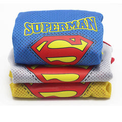 Superman  Breathable Vest Clothing For Cats
