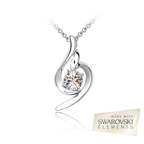 Swarovski Crystal Clear Pendant - BoardwalkBuy