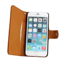 Cow Leather Wallet Case for iPhone 6 4.7 - BoardwalkBuy - 2