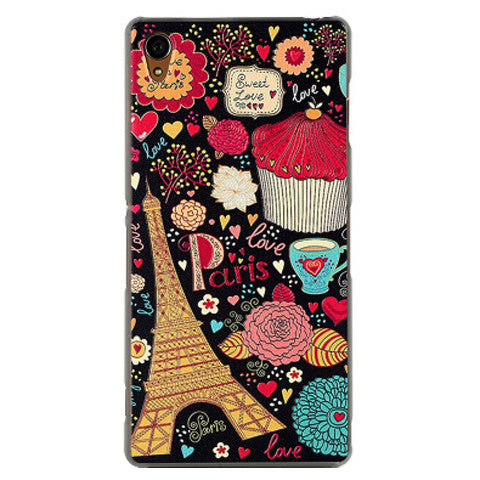 Painted Hard Case for Sony Xperia Z3 - BoardwalkBuy