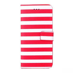 Stripe Leather Wallet Case for iPhone 6 4.7 - BoardwalkBuy - 6