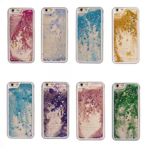 Glitter Quicksand Hard Case for iPhone 6