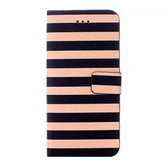 Stripe Leather Wallet Case for iPhone 6 4.7 - BoardwalkBuy - 3