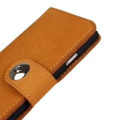 "Cow Leather Wallet Case for iPhone 6 4.7"" - BoardwalkBuy - 4"