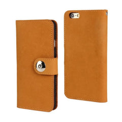 Cow Leather Wallet Case for iPhone 6 4.7 - BoardwalkBuy - 1