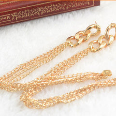 Tassel Pendant  Dangle Elegant Gold Plated Ear Stud - BoardwalkBuy - 4