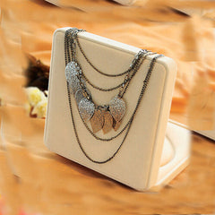 Temperament Bohemia Leaves Multilayer Necklace - BoardwalkBuy - 2