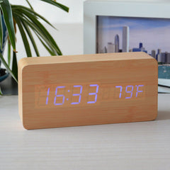 Temperature Sounds Control LED Clock - BoardwalkBuy - 4