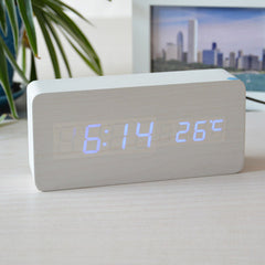 Temperature Sounds Control LED Clock - BoardwalkBuy - 6