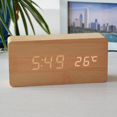Temperature Sounds Control LED Clock - BoardwalkBuy - 5